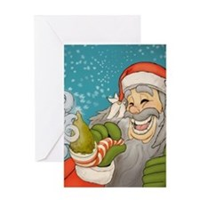 santa_notext Greeting Card