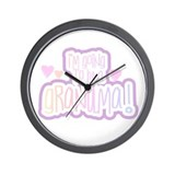 Future Grandma Wall Clock