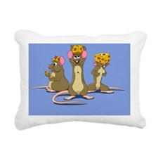 mice Rectangular Canvas Pillow