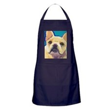 large yell cafepress Apron (dark)