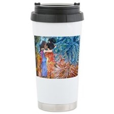 artmessengers2 Ceramic Travel Mug