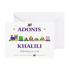 Adonis2 Greeting Card