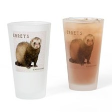 ferretcalcover Drinking Glass