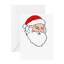 Santa Fear The Beard Greeting Card