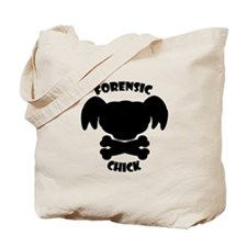 Forensics Chick Tote Bag