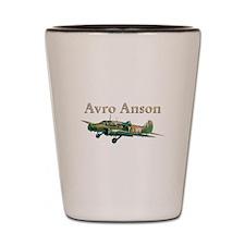 Avro Anson Shot Glass