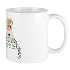 Fox Terriers Rule Mug