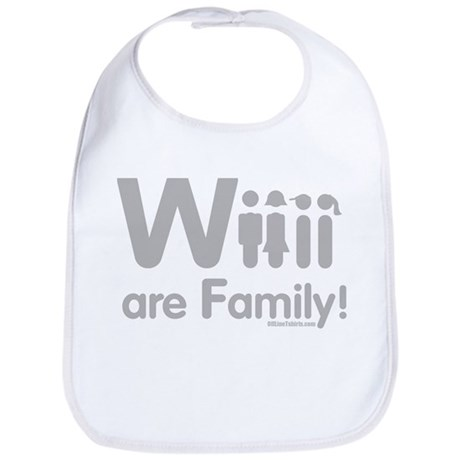 Wii are Family Bib
