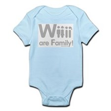 Wii are Family Infant Bodysuit