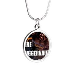 juggernaut Silver Round Necklace