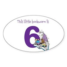 Little Bookworm Custom Age Decal