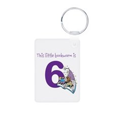 Little Bookworm Custom Age Keychains