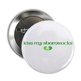 "Kiss My Shamrocks 2.25"" Button (10 pack)"