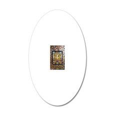 chenrizig-thangka-big 20x12 Oval Wall Decal