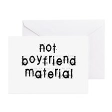 Not boyfriend... Greeting Cards (Pk of 10)