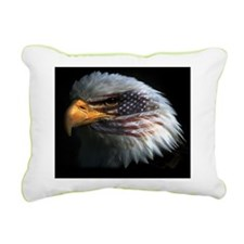 eagleflag2 Rectangular Canvas Pillow