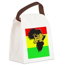 rasta lion of judah africa Canvas Lunch Bag