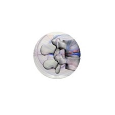 LumbBlu1 Mini Button (100 pack)