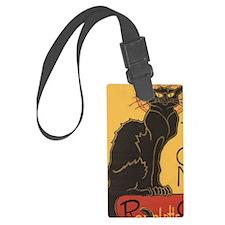 Steinlens Black Cat Luggage Tag