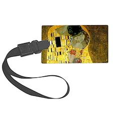 The Kiss by Klimt Luggage Tag