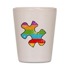 Autism Thing Pocket Shot Glass