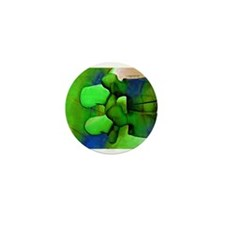 Lumbar Green 1 Mini Button (10 pack)