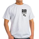 Isaiah 40:31 Run Ash Grey T-Shirt