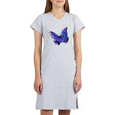 ButterflySourceDisplacement13 Women's Nightshirt