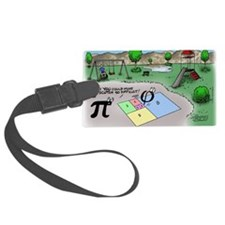 Pi_65 Fibonacci Hopscotch (7.5x4 Luggage Tag