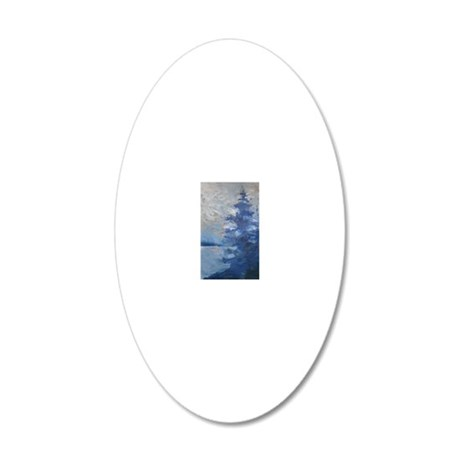 P9020002 20x12 Oval Wall Decal