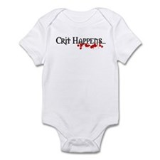 Crit happens Infant Bodysuit