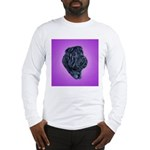 Black Shar Pei Long Sleeve T-Shirt