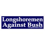 Longshoremen Against Bush (sticker)