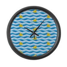 Ducky Dream Large Wall Clock