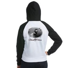 Black Widow Women's Raglan Hoodie