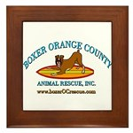 Boxer OC Rescue Framed Tile