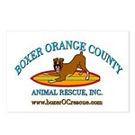 Boxer OC Rescue Postcards (Package of 8)