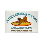 Boxer OC Rescue Rectangle Magnet