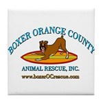 Boxer OC Rescue Tile Coaster
