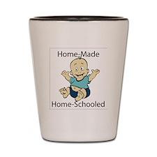 Home made boy Shot Glass