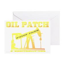 Oil Jack A4ab trsp Greeting Card