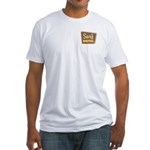 Surf Motel Fitted T-Shirt
