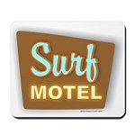 Surf Motel Mousepad
