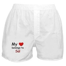 My heart belongs to sal Boxer Shorts