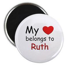 My heart belongs to ruth Magnet