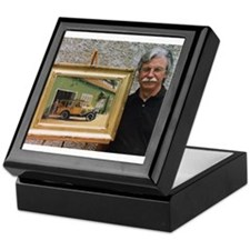 Smiling Stewart Keepsake Box