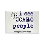 JCAHO People Rectangle Magnet (100 pack)