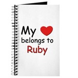 My heart belongs to ruby Journal