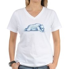 polar bear napping T-Shirt