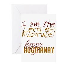 Lord of Misrule/Hogmanay Greeting Cards (Package o